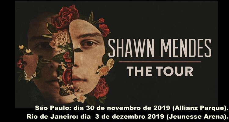 86ee3fed4 Shawn Mendes anuncia shows de sua turnê mundial SHAWN MENDES: THE TOUR no  Brasil em 2019